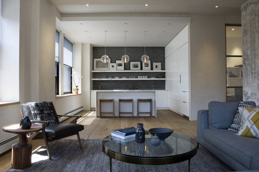 Greenwich Village Apartment by Berg Design Architecture
