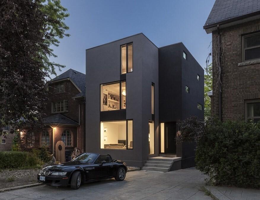 Instar House: Minimalist Three-Storey Home by Atelier RZLBD