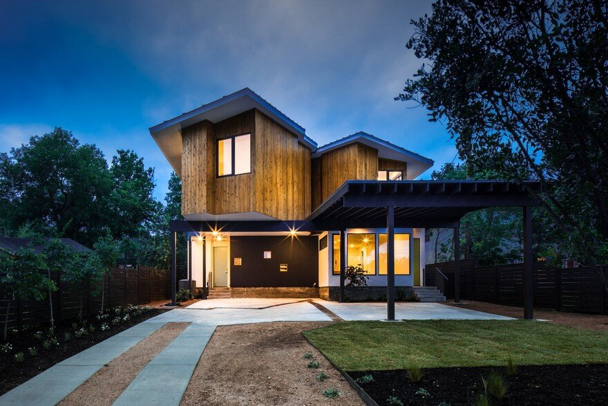 Johanna House by Mark Odom Studio