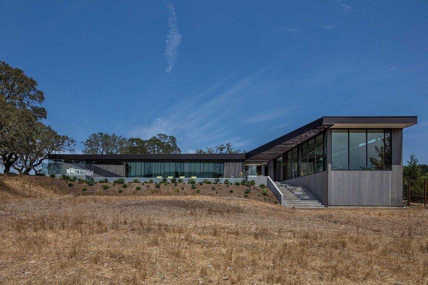 Lichen House In Sonoma Valley California Schwartz And