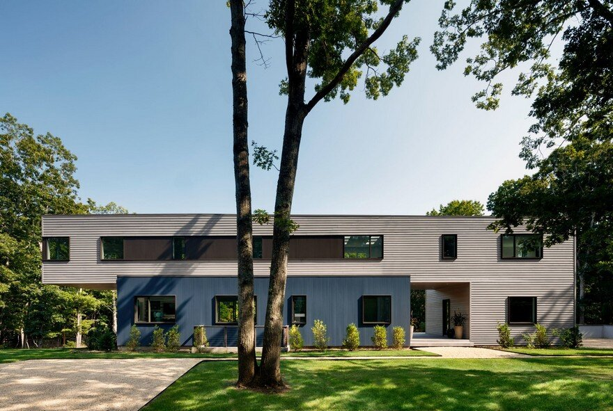 Modern energy efficient house fabricated in pennsylvania for Modern house 1 12