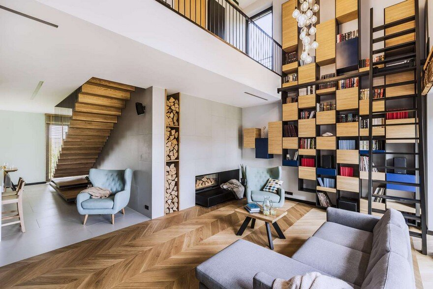 Modern Poznan House in Poland / Metaforma Group