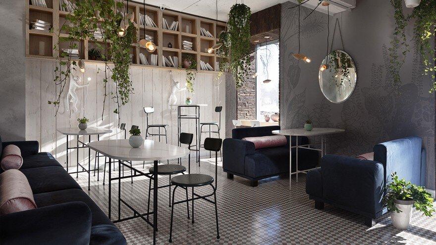 Restobar Garden / Azovskiy Pahomova Architects
