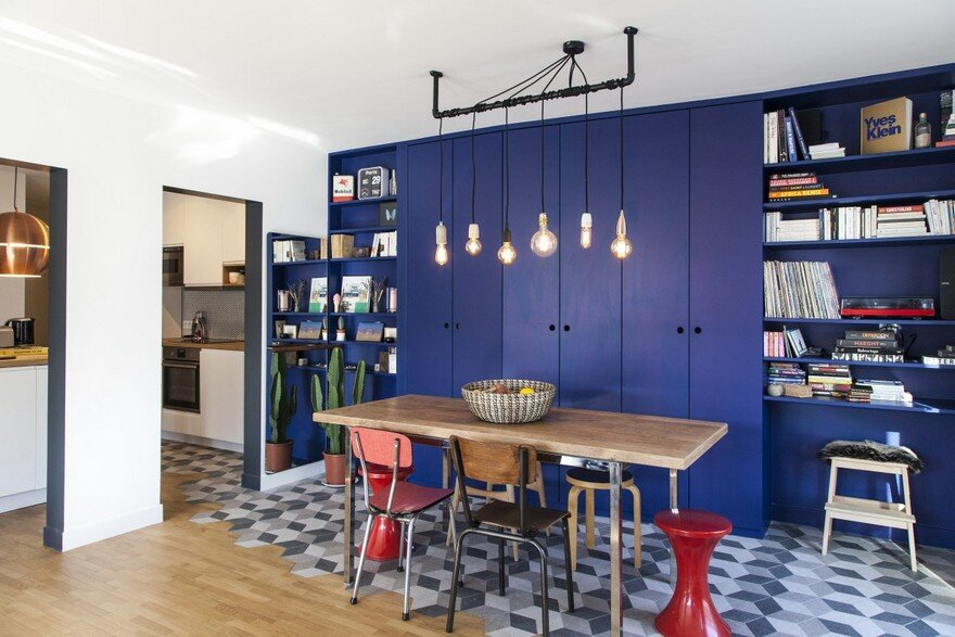 Retro Style Apartment in Paris / BäN Architecture