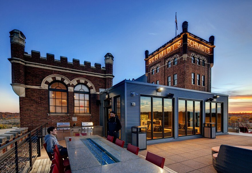 Schmidt Artist Lofts in Minnesota by BKV Group