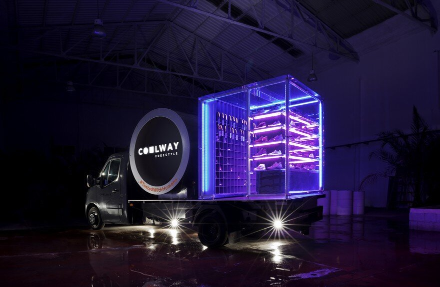 Coolway Foot Truck by CuldeSac Custom Retail