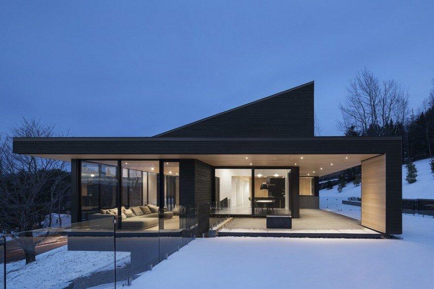 Vingt House / Bourgeois Lechasseur Architects