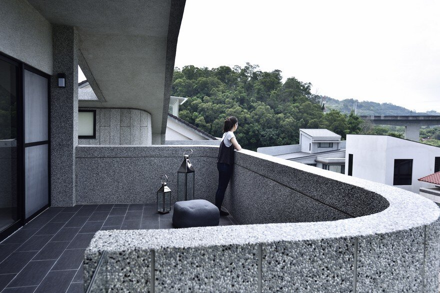 Brutalist-Style House in Northern Taiwan, Yuan Architects 15