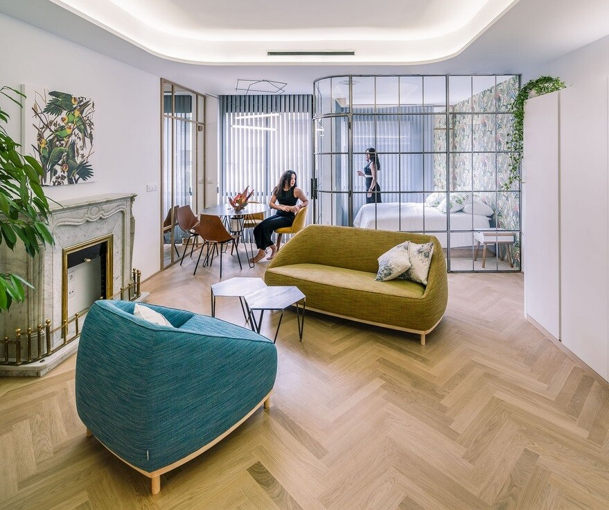 Dividing a Large Old Flat into Three Luxury Apartments in Madrid