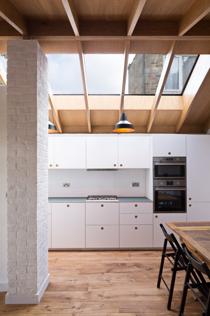 Extension Of A Garden Flat Defined By A Dramatic Vaulted