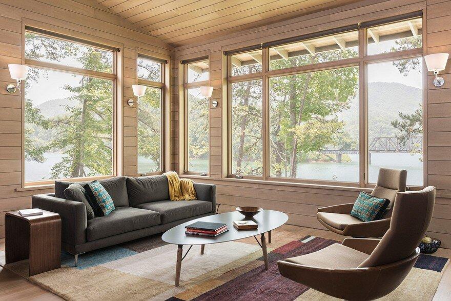 Fontana Lake House, Samsel Architects 5