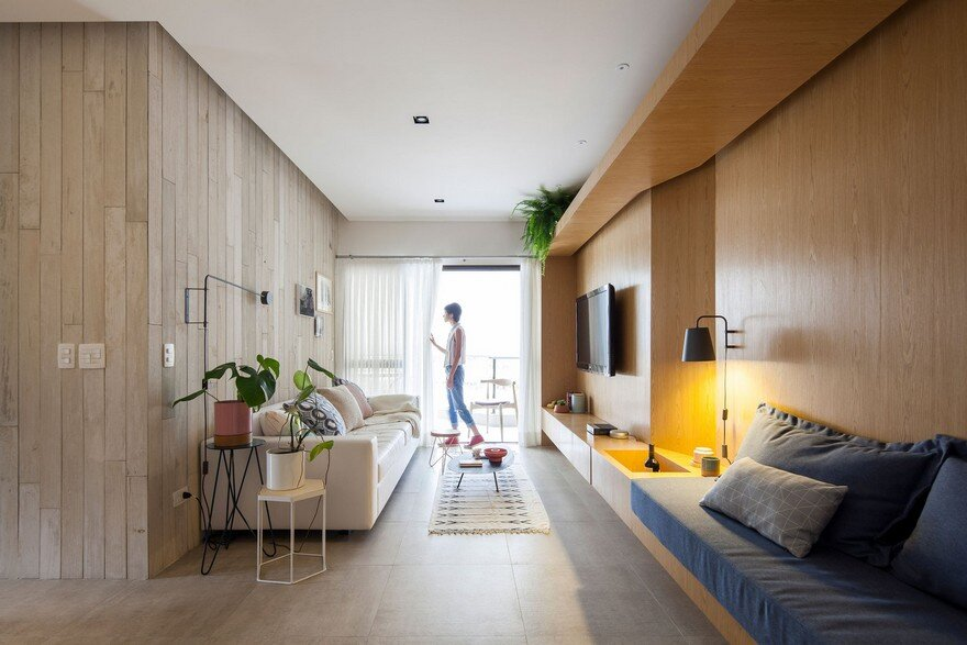 Guaruja Flat Refurbished by Estudio BRA for a Retired Couple