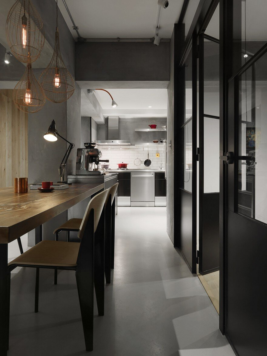 Honeycomb Apartment In Taipei Two Books Space Design
