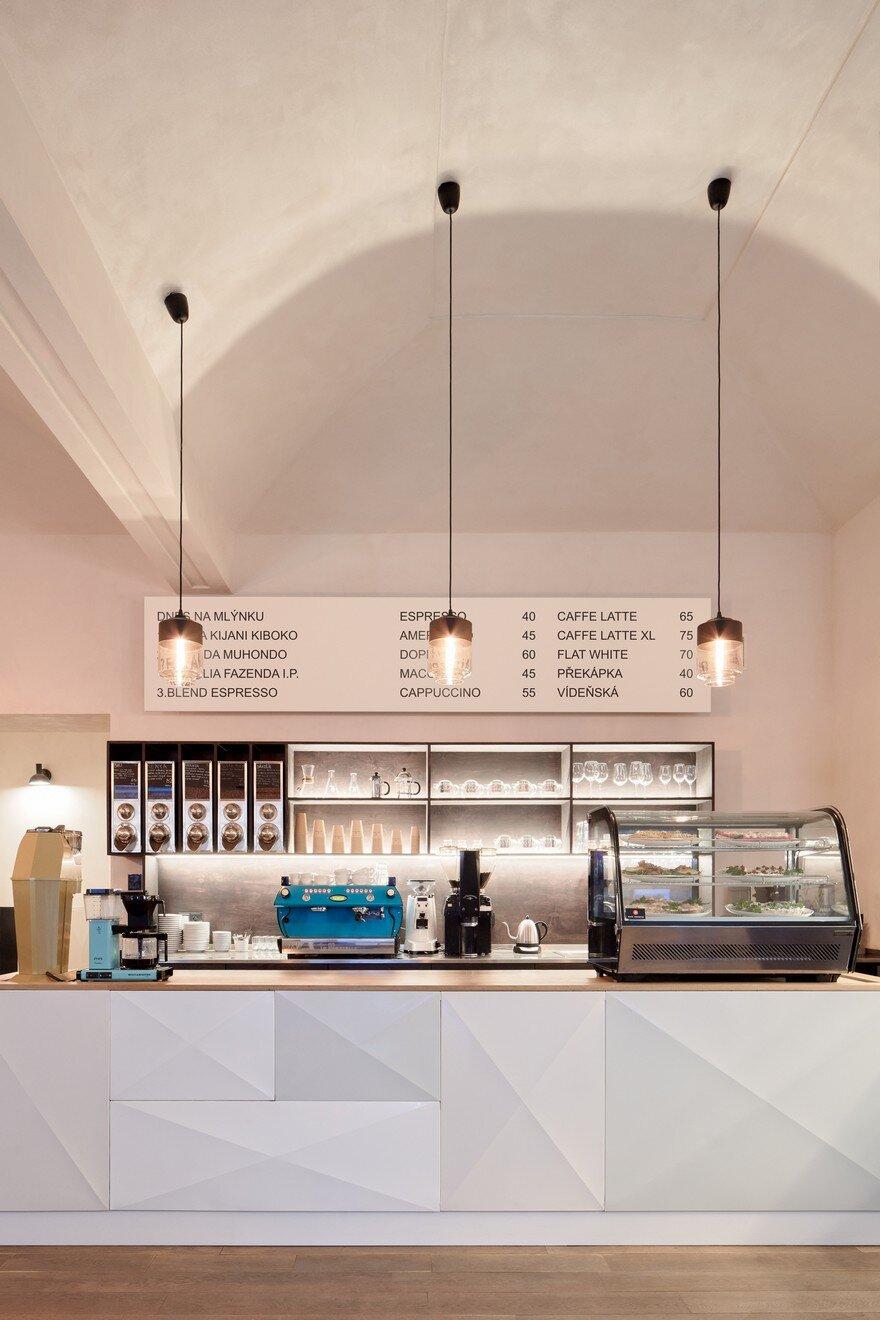 Kafe francin in prague ddaann studio for Hipster hotel prague