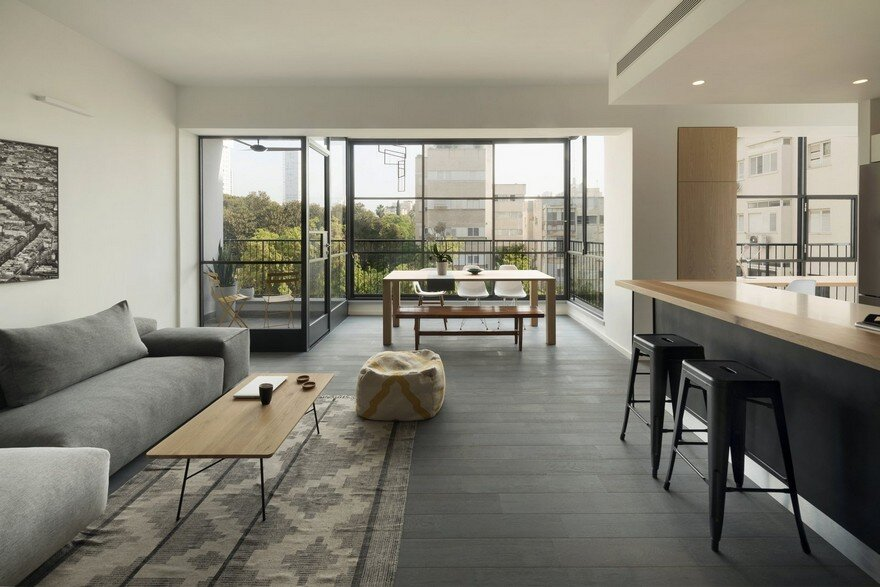 King David Apartment in the Heart of Tel Aviv / Kedem Shinar Design
