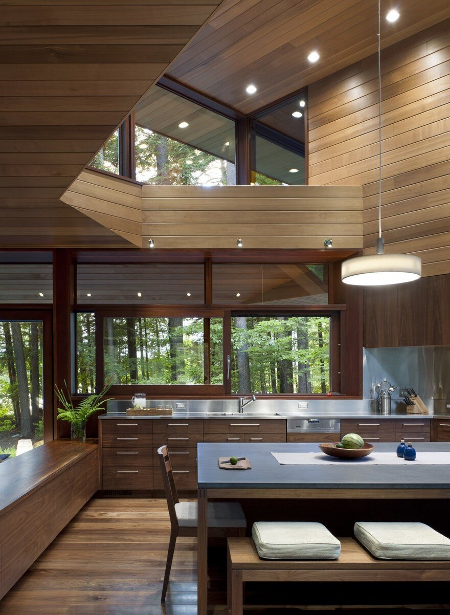 Lakeside camping in new hampshire designed for three for Lakeside designs