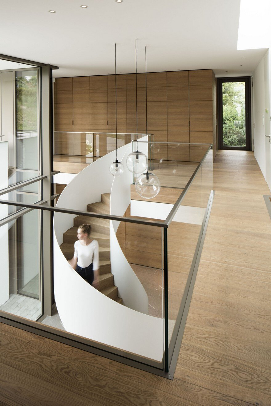 Light Infused Panoramic Family Home In Esslingen Germany