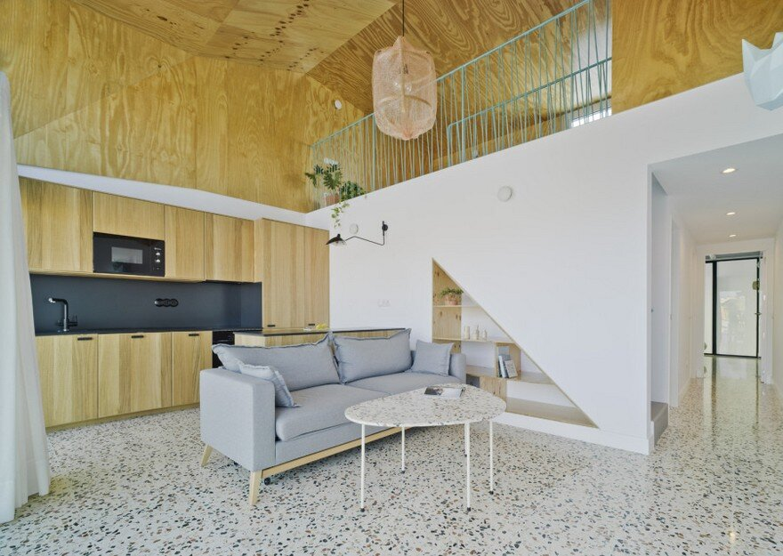Mediterranean Beach House Laura Ortn Arquitectura