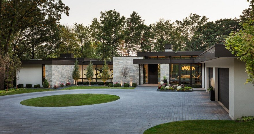Modern Single Family Home with Generous Lake Views in ...