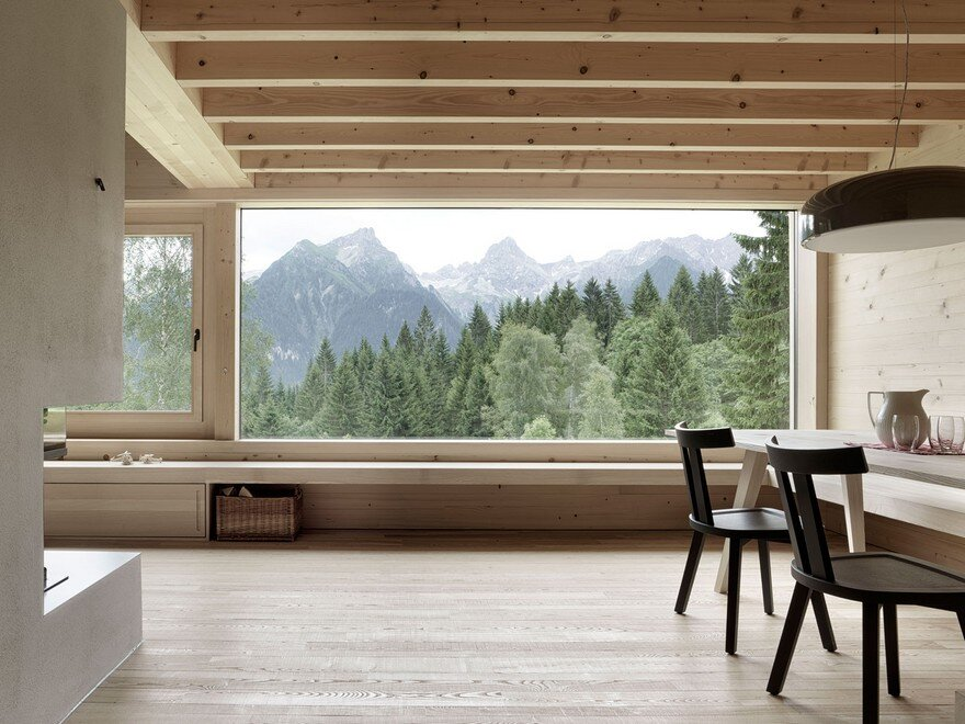 Mountain Vacation House in Austria, Innauer-Matt Architekten 6