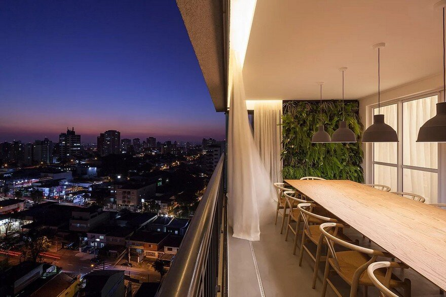 Natural Materials Create a Warm and Peaceful Family Apartment in Sao Paulo 14