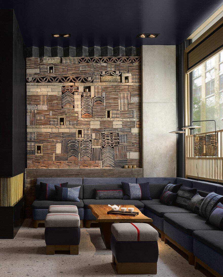 Nobu hotel in london by ben adams architects for Hotel design london