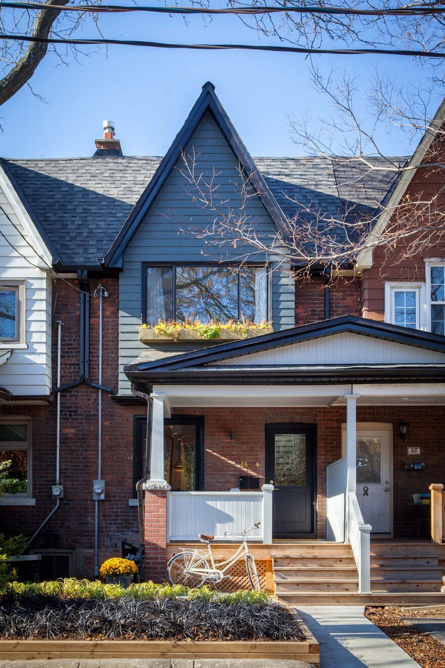 Old Edwardian House Renovation Project In Toronto With A
