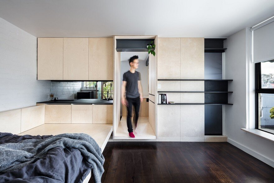 Optimal Interior Design for a 28 sqm Micro Apartment in Melbourne 2