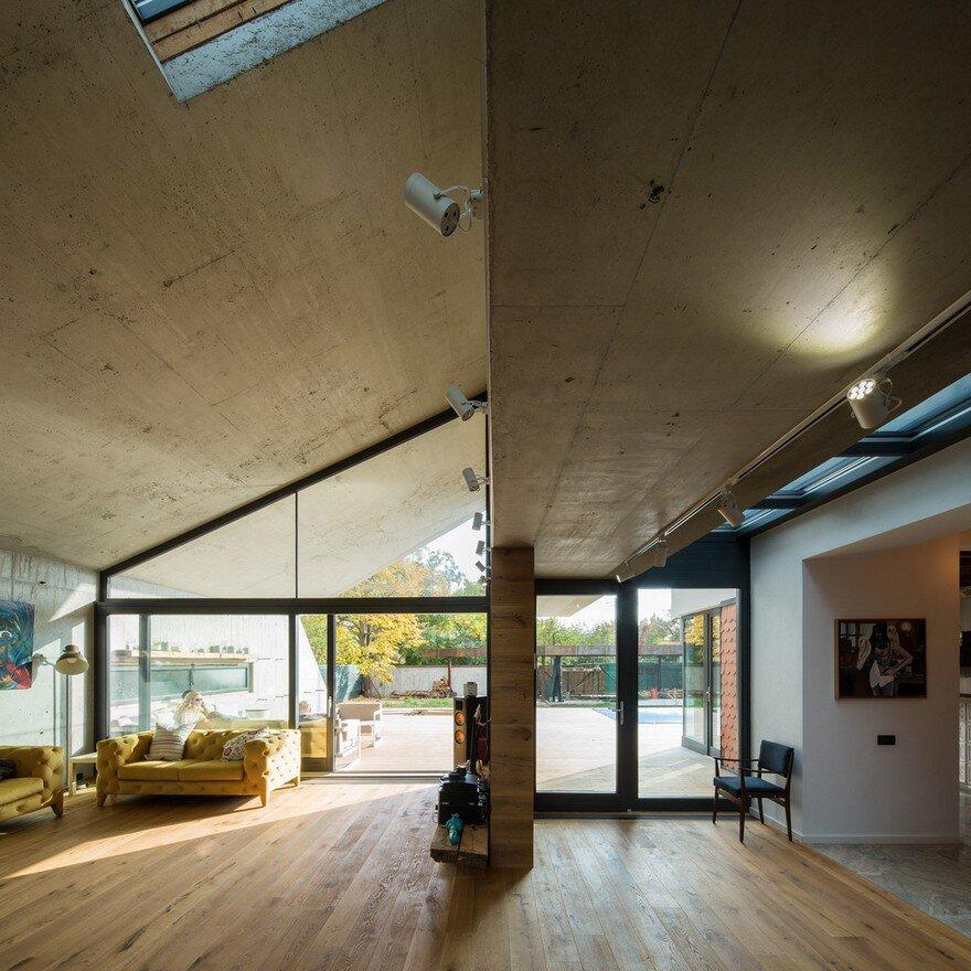 Origami House Lama Arhitectura