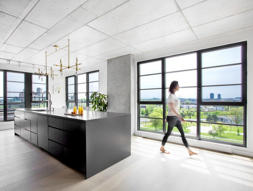 Penthouse Griffintown / MXMA Architecture & Design