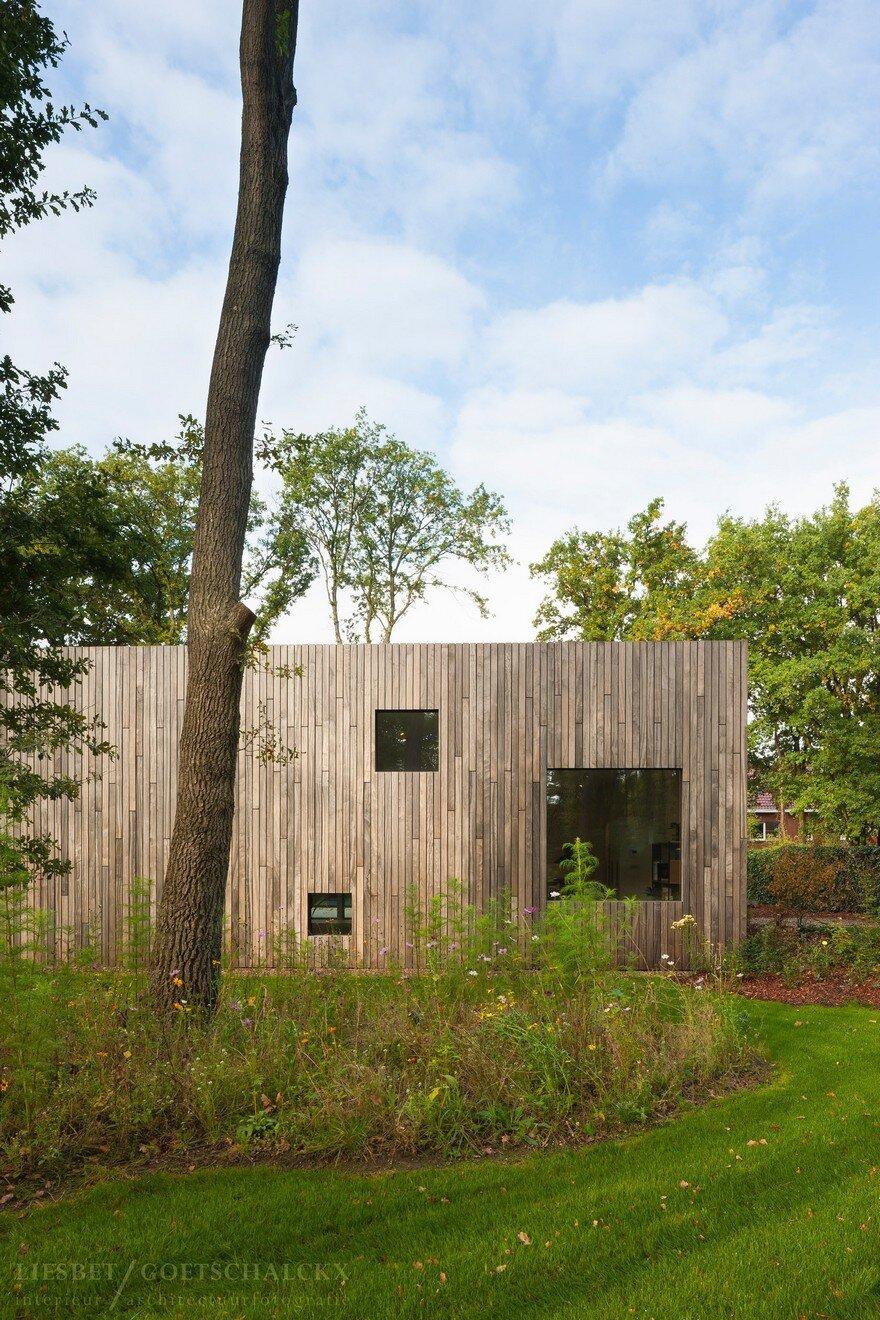 Square House In Genk Belgium Cocoon Architecten
