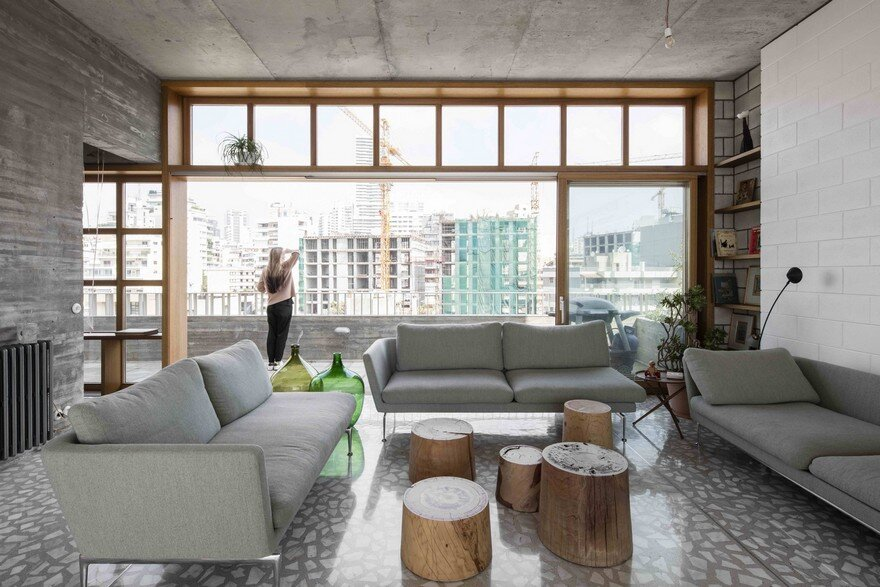 Stunning Roof Extension in Beirut With Panoramic City Views 6