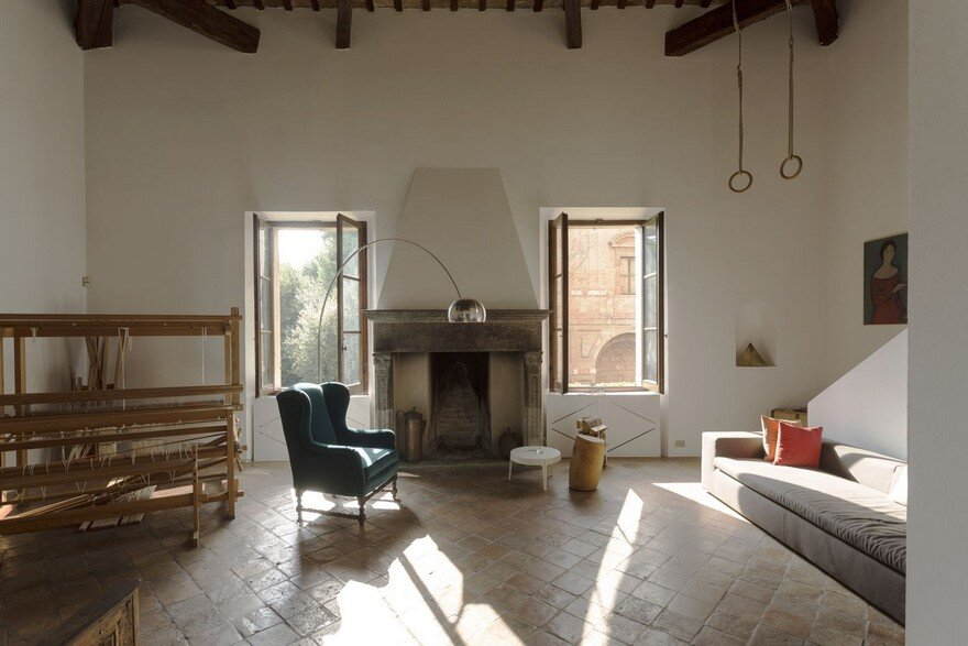 Two-Level Loft in an Historical Villa in Pesaro, Italy