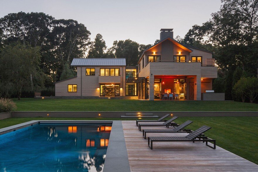 Watermill Retreat in East Hampton, New York
