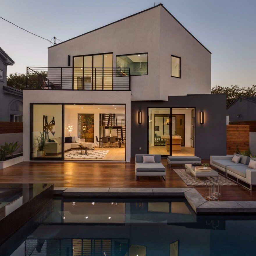 L A Houses: Admiral House In Los Angeles Featuring Contemporary Design