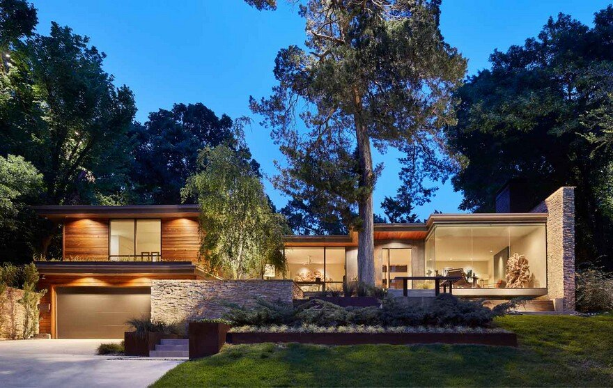 Complete Redesign Of A Dilapidated 1950s Split Level Home