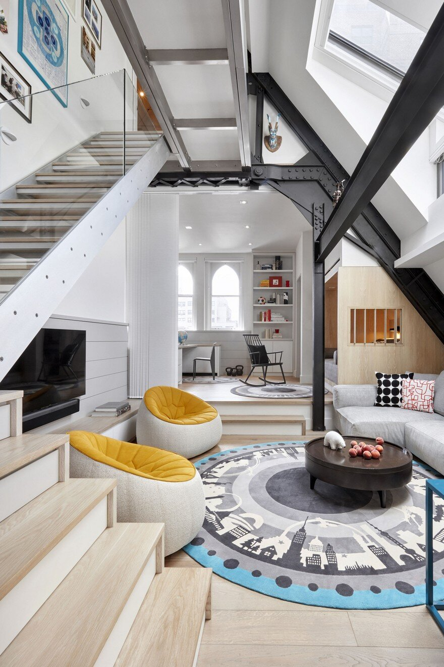 Tiny Duplex Apartment In Manhattan By Am Mor Architecture