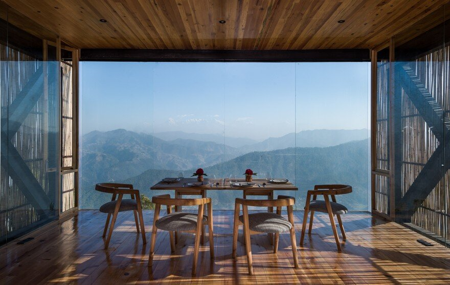 Kumaon Hotel Nestled on a Rugged Mountainside in Kasar Devi, India 3
