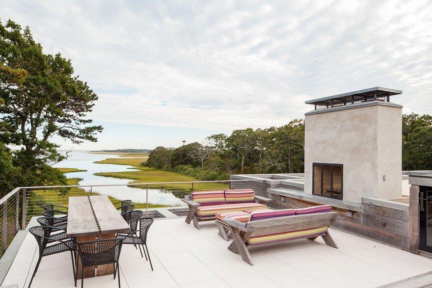 Marsh House on Chappaquiddick Island, Massachusetts