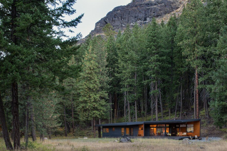 Modern Mountain Cabin Methow Valley, Prentiss Balance Wickline Architects