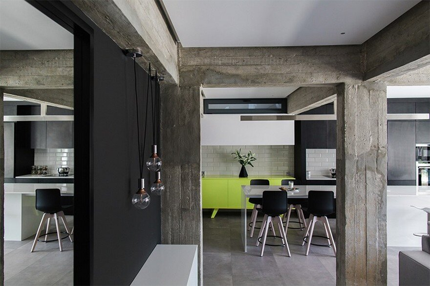 Old Apartment in Greece Transformed into an Industrial Space with a Unique Style