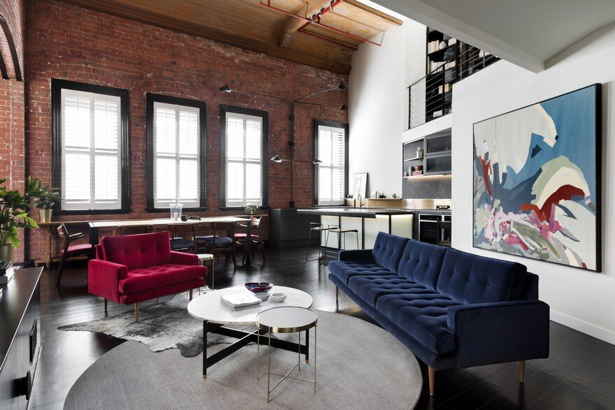 Oxford Street Apartment Featuring an Industrial Aesthetic 7