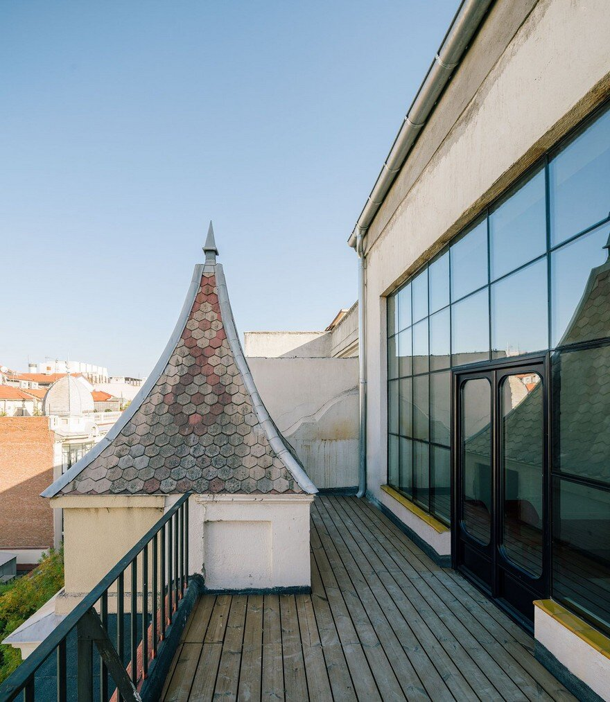 Penthouse h in madrid langarita navarro arquitectos - The penthouse madrid ...