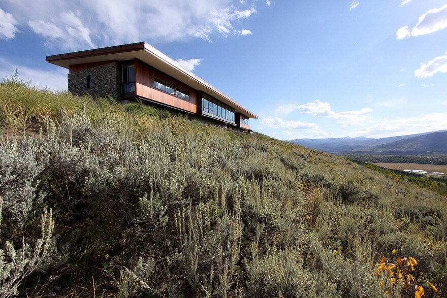 Ridgeline Residence, Welch Hall Architects