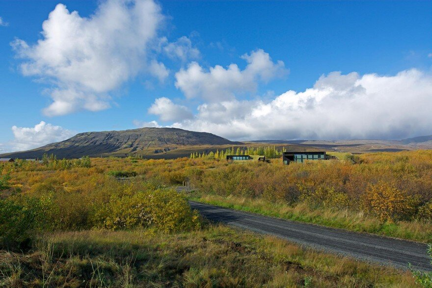 This Rural Cottage In Iceland Have Turf Roofs And Burnt
