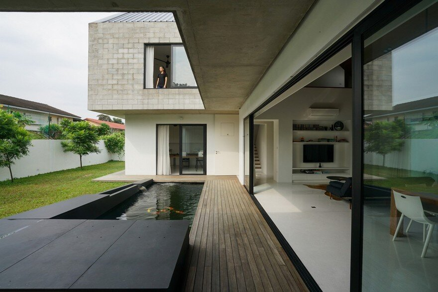 Semi-Detached Modern House in Malaysia, Fabian Tan Architect 4