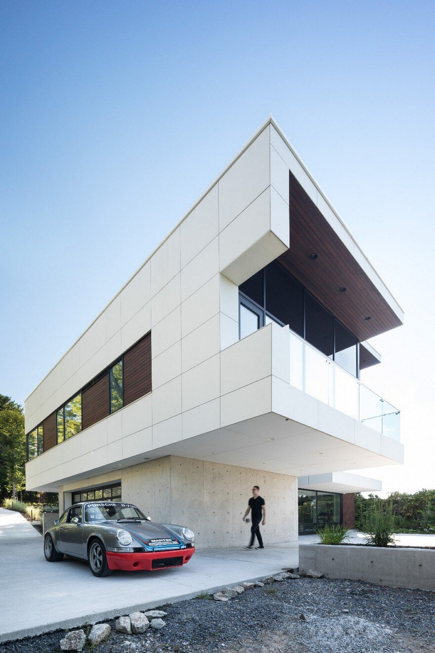 Syncline residence in halifax omar gandhi architect