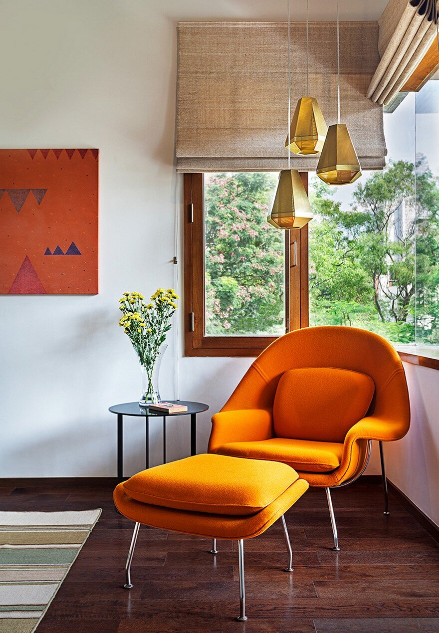 contemporary art furniture. This Bangalore House Featuring Mid-Century Classics Furniture And Contemporary  Art 11 Contemporary Art Furniture
