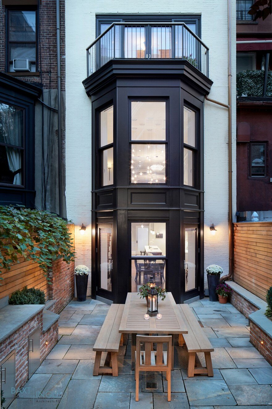 brooklyn heights townhouse by baxt ingui architects