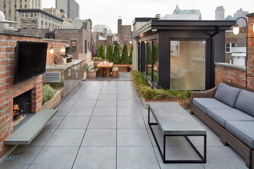 Brooklyn Heights Townhouse by Baxt Ingui Architects 10